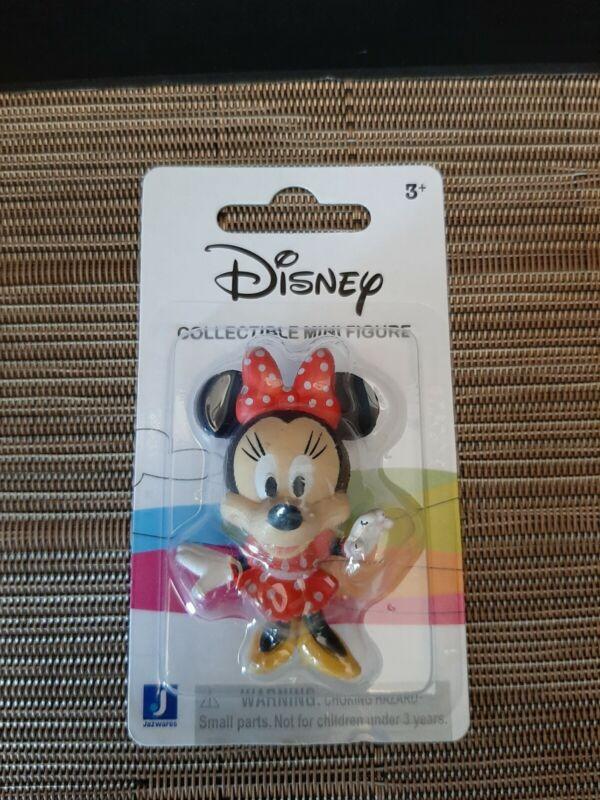 Minnie Mouse Disney Mini Figure Collectible Toy Cake Topper NIP