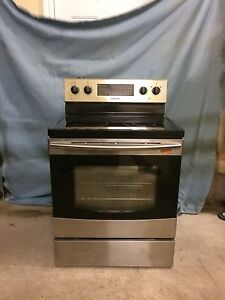 SAMSUNG STAINLESS STEEL OVEN - FOUR ACIER INOXYDABLE SAMSUNG
