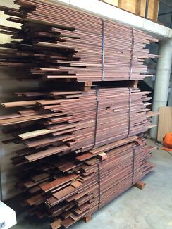 Jarrah 80-85m old growth flooring clearance (100% recycled timber)