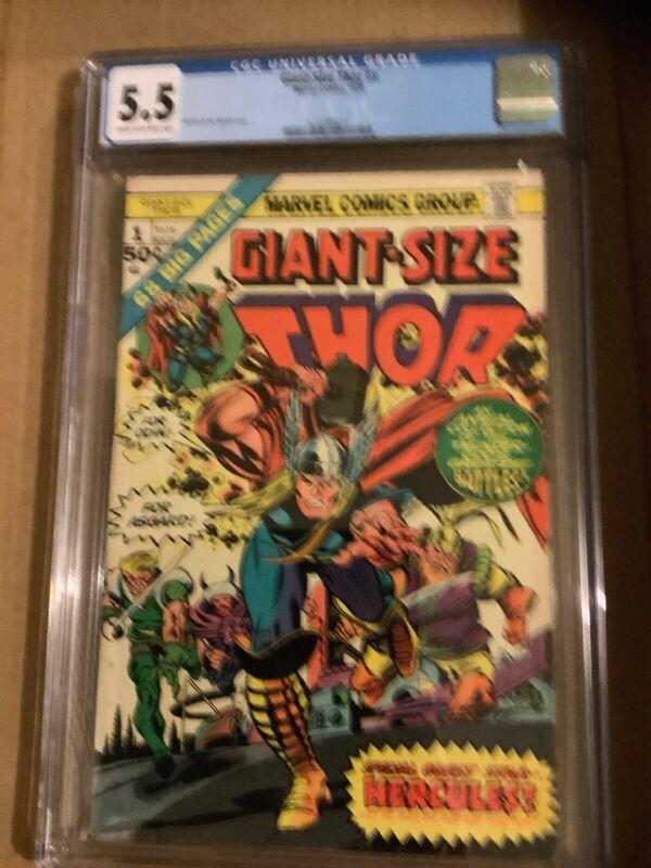 Marvel Giant Size Thor 1 CGC 5.5
