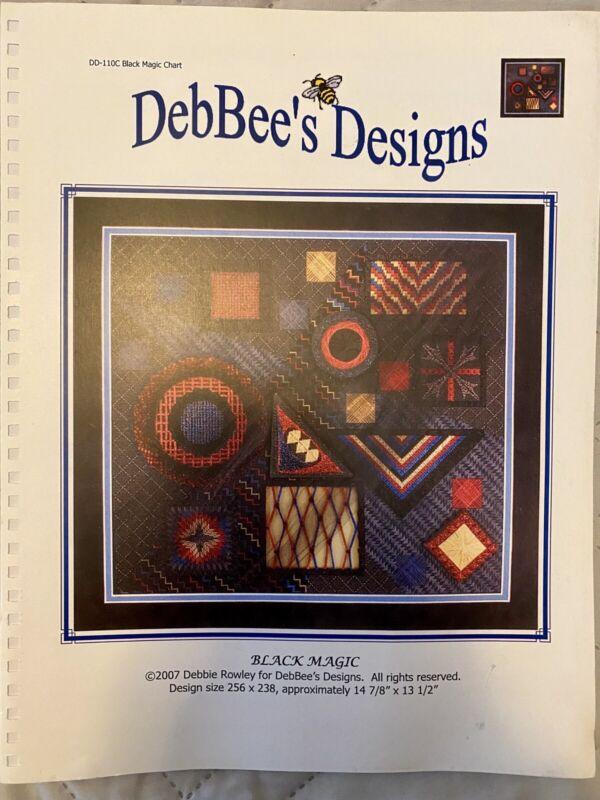 DebBee's Designs Chart: Black Magic