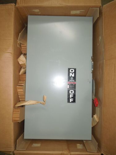 Ge Thn3365 Heavy Duty Safety Switch Non-fused 400a 3p 600v Nema 1 Indoor Surplus