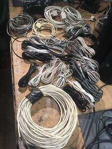 26 Telephone extensions and cables