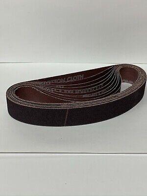 Norton 78072721731  3X24 R228  220-Grit Metalite Belts Box Of 10 Belts NOS