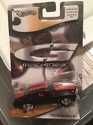 Hot Wheels G Machines '70 Chevy Chevelle black and red