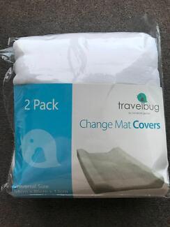 Changemat Covers 2 pk Travel Bug