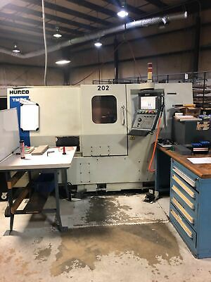 Hurco Tmm-8 Cnc Multi Axis Lathe 2008 - Live Tooling Medical Industry Video