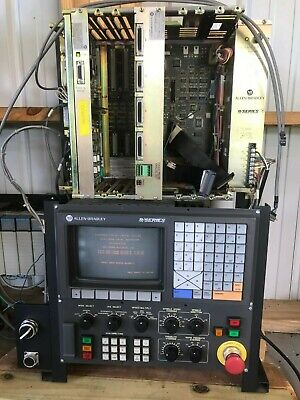 Allen Bradley 9 Series Cnc Controller Used For Training With Siemens Io Module