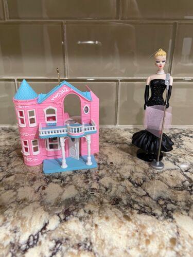 Hallmark Keepsake Barbie House & In the Spotlight Ornaments