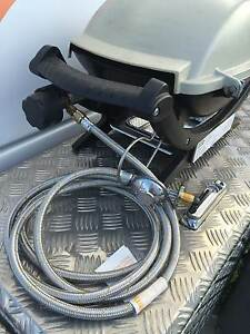 Weber Q Baby Q 3m S/Steel Gas Hose - LP Gas POL Cylinder to Weber Rural View Mackay City Preview