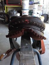 Syd Hill stock saddle Cedar Vale Logan Area Preview
