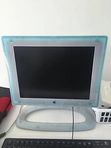 APPLE POWER MAC G4 desktop computer with monitor Bentleigh Glen Eira Area Preview