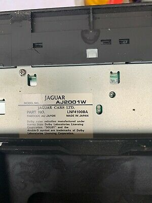 GENUINE JAGUAR PART 1996-2003 JAGUAR XJ8 XJR XK8 XKR cd changer cartridge