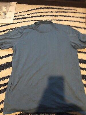 Uniqlo T-Shirt Blue L Large