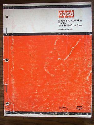 Case 870 Parts Manual