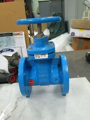 Watts Resilient Wedge Gate Valve 3 Nrs 125 Flat Face Flange 200 Cwp New