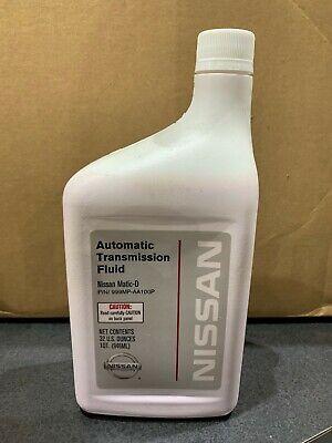 Genuine NISSAN Matic-D Automatic Transmission Fluid 999MP-AA100P 1 Quart