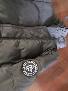 ABERCROMBIE & Fitch Down Filled Winter Jacket size Men's Small