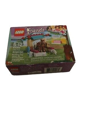 LEGO Friends Little Foal 41089 Stable Stall & Brown Baby Horse, NEW & SEALED