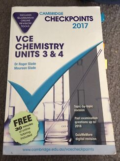 Unit 3 and 4 chemistry vcaa questions