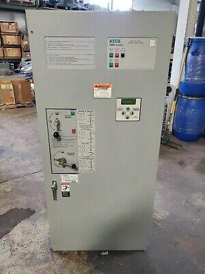 Asco 400 Amp Automatic Transfer Switch 480 Vac Type 1 4 Pole E07atbc30400n50c