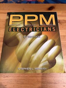 Ppm electricians college text book