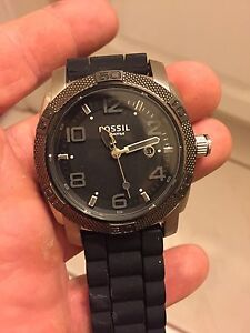 Trade fossil watches for aquarium