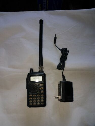 Icom A-23 Airband Handheld Radio For Pilots