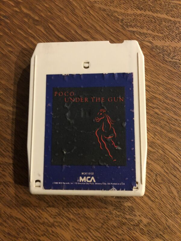 """POCO """"Under The Gun""""8Track. Internal Tuneup. New Foil/Pad. Play Tested."""