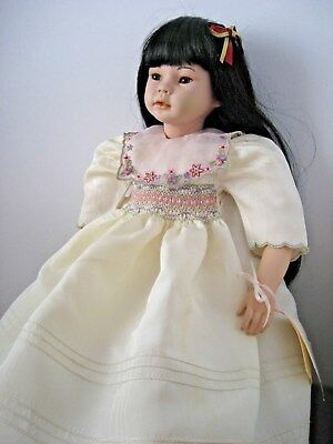 "Pauline Limited Edition Doll Jennilee 22"" Individaully Hand Signed and Numbered"