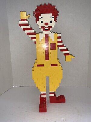 LEGO Collectible Ronald McDonald Store Display Vintage Figure