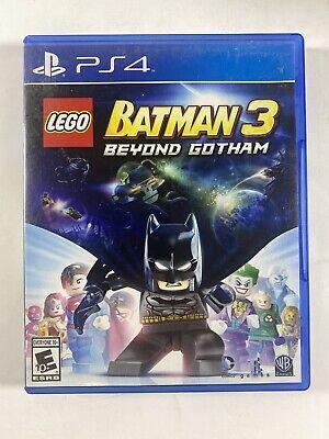 Lego Batman 3 Beyond Gotham Playstation 4 PS4 Complete in Box CIB