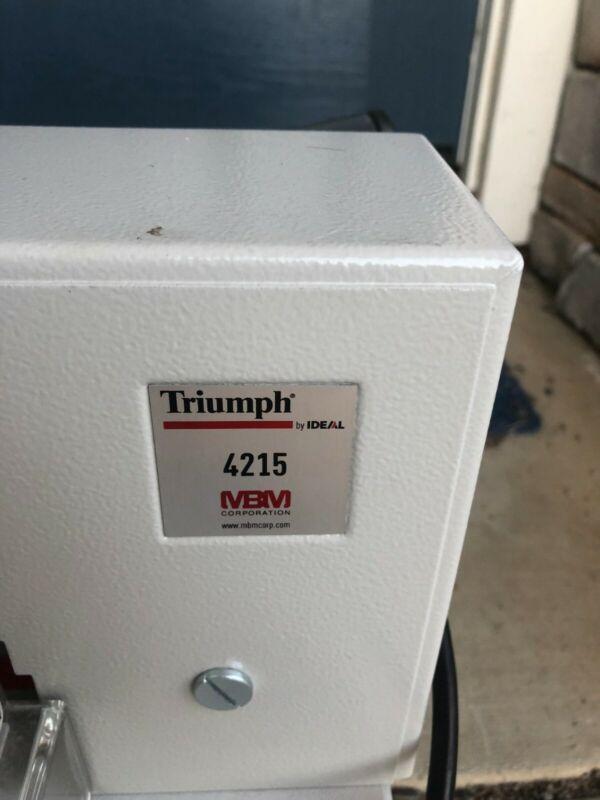 """TRIUMPH PAPER ELECTRIC CUTTER 24"""" Throat"""