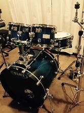 Mapex Saturn maple walnut kit. Meadowbank Ryde Area Preview