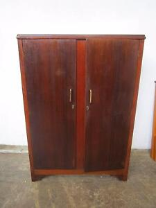 C44024 Vintage ART DECO Gentleman's Wardrobe Mount Barker Mount Barker Area Preview