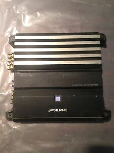 Alpine v-power car amp