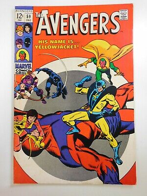Avengers 59 Earth s Mightiest Heroes Beautiful VF Condition  - $28.77