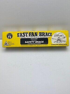 Ceiling Fan Easy Brace Bracket Safety Mount Riker Enterprises Model 33300