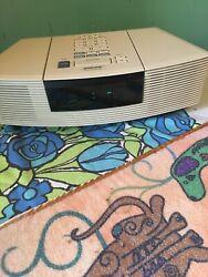 bose wave radio cd player alarm clock awrc-1p