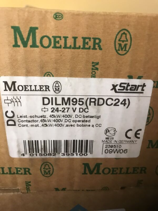 NEW EATON CORPORATION DILM95 (RDC24) CONTACTOR XTCE095F00TD