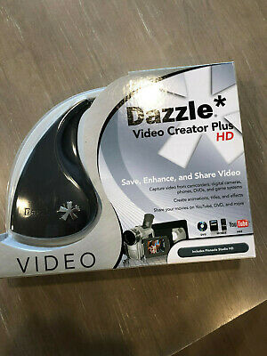 Dazzle Video Creator Plus DVD converter VHS RCA Pinnacle Software Home movies  Dazzle Video Creator Plus