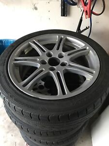 Acura Csx rims 17 inch(WANT GONE PRICE OBO)