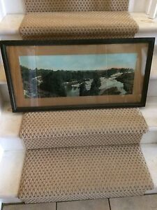 """Old picture frame....31 1/2"""" wide x 15 3/4"""" high"""