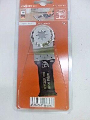 New Fein Oscillating Saw Blade Bi-metal 1-18 63502151260