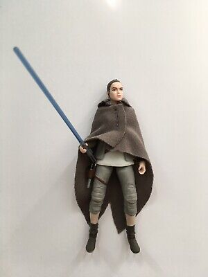 "Star Wars The Vintage Collection Rey TLJ 3.75"" Action Figure Loose Complete"