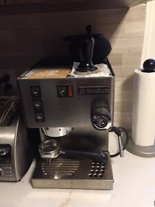 Rancilio and Barattza espresso maker and grinder