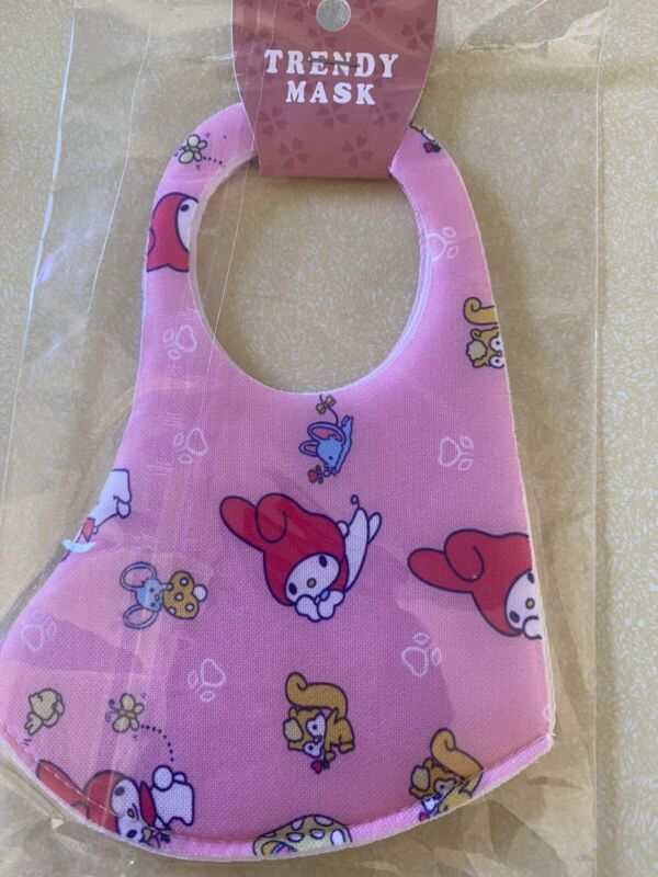 Miffy Sanrio Face Mask Adult/Teen Size Washable