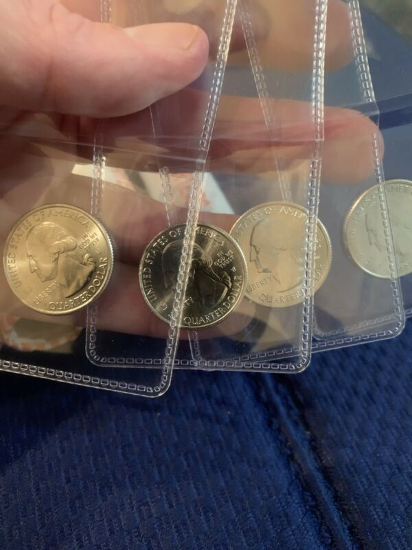 2020-W American Samoa Quarter - West Point Mint - V75 Privy Mark - UNCIRCULATED