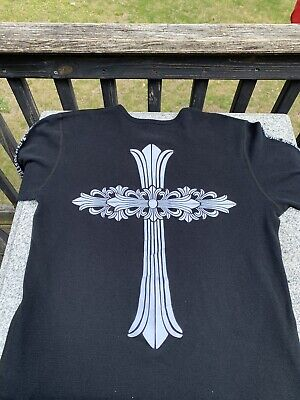 Chrome Hearts Long Sleeve Thermal Vintage Size XL