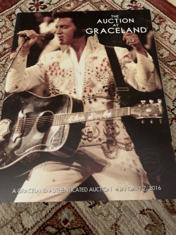 AUCTION ELVIS PRESLEY CATALOG Graceland Book 2016